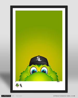 Minimalist Southpaw Poster Print Chicago White Sox - S Preston