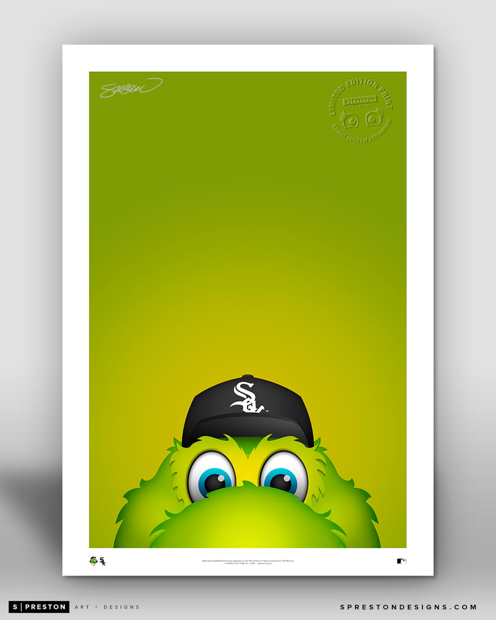 Minimalist Southpaw - Chicago White Sox - S. Preston