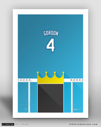 Minimalist Kauffman Stadium - Player Series - Alex Gordon