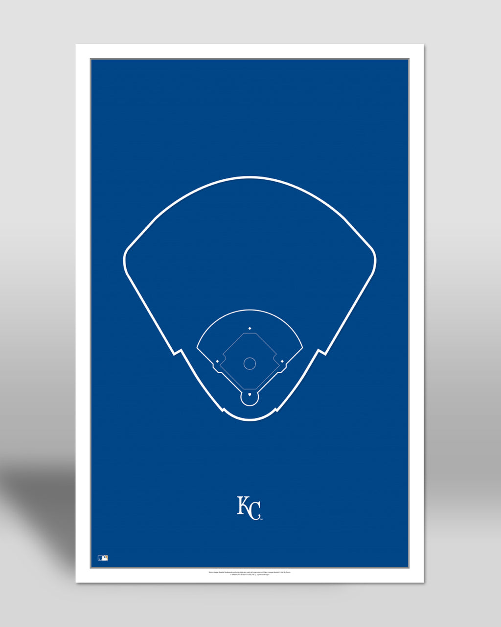 MLB Outline Ballpark - Kauffman Stadium
