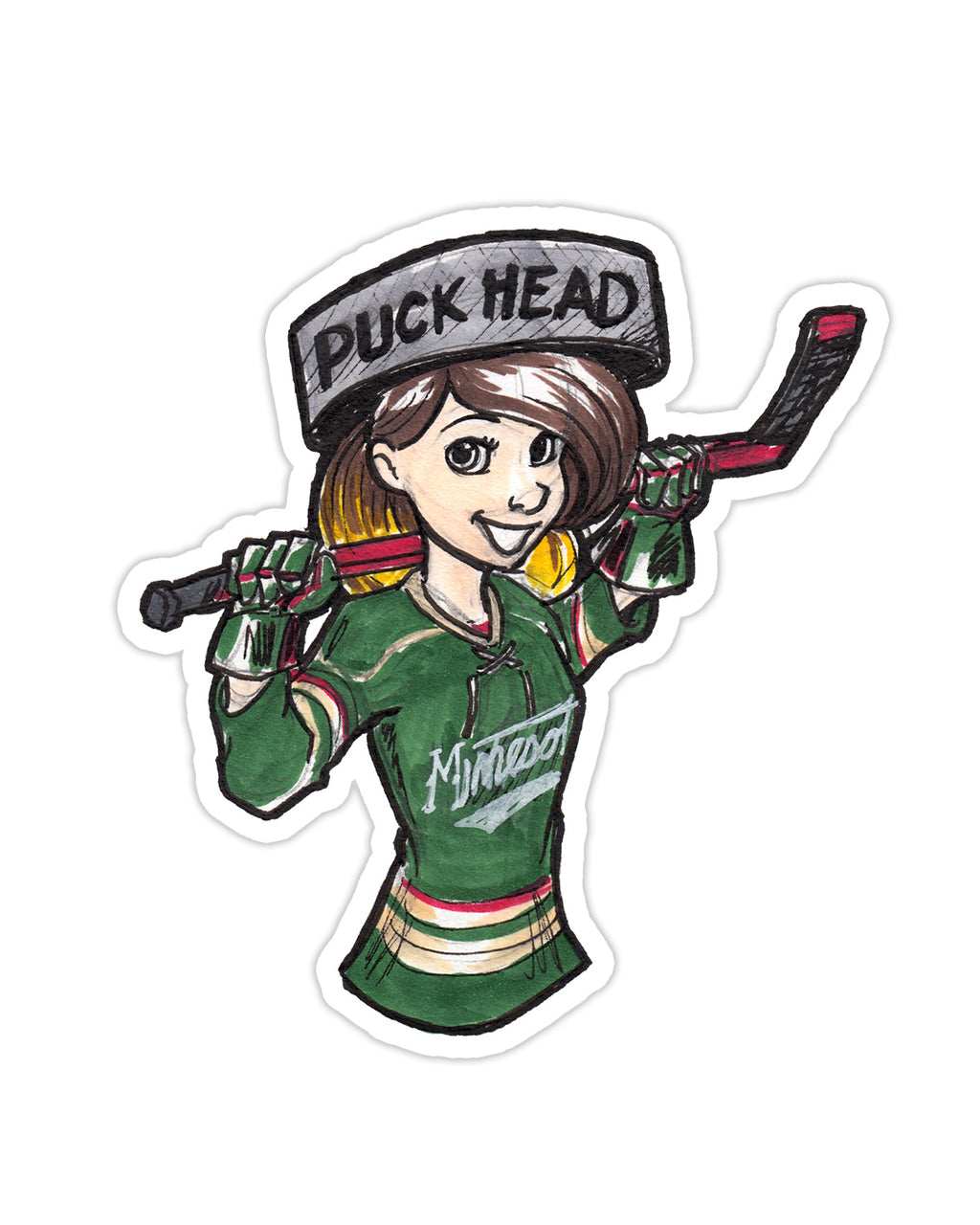 Konni Mackenzie - State of Hockey Sticker