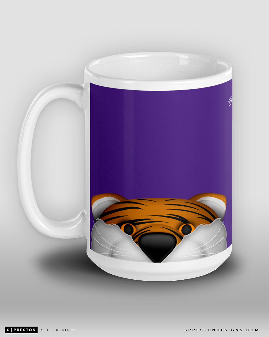 Minimalist Mike The Tiger Coffee Mug