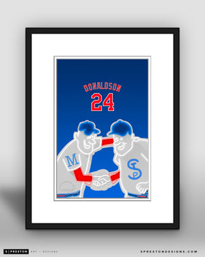Minimalist Target Field - Player Series - Josh Donaldson - Minnesota Twins - S. Preston