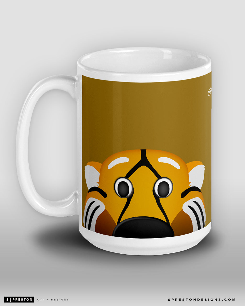 Minimalist Truman The Tiger Coffee Mug