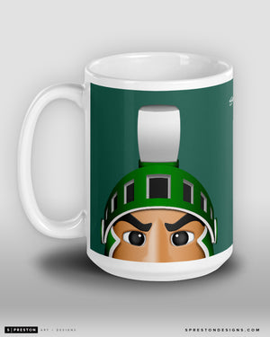 Minimalist Sparty Coffee Mug