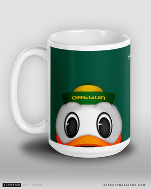 Minimalist The Duck Coffee Mug