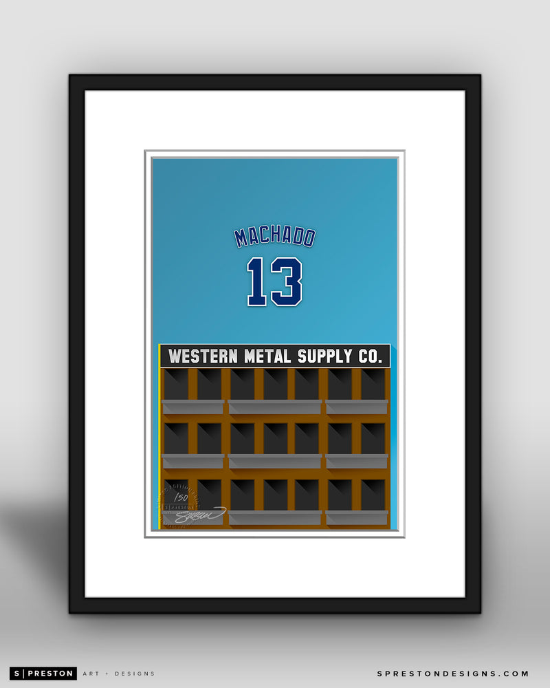 Minimalist Petco Park - Player Series - Manny Machado