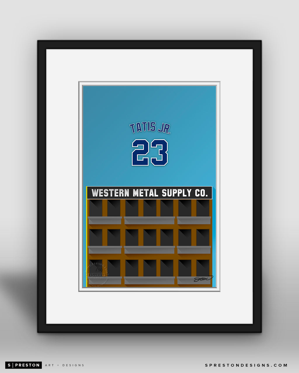 Minimalist Petco Park - Player Series - Fernando Tatis Jr.