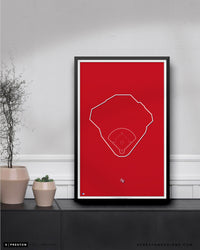 MLB Outline Ballpark - Globe Life Field Texas Rangers - S Preston