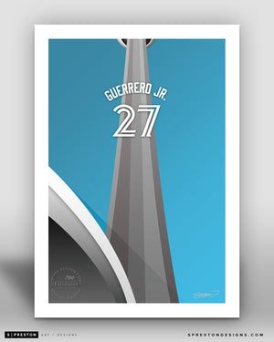 Minimalist Rogers Centre - Player Series - Vladimir Guerrero Jr. - Toronto Blue Jays - S. Preston