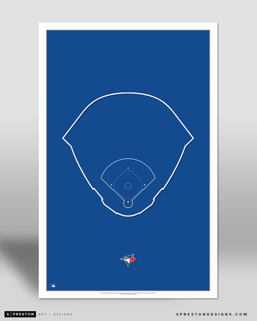 MLB Outline Ballpark - Rogers Centre Toronto Blue Jays - S Preston