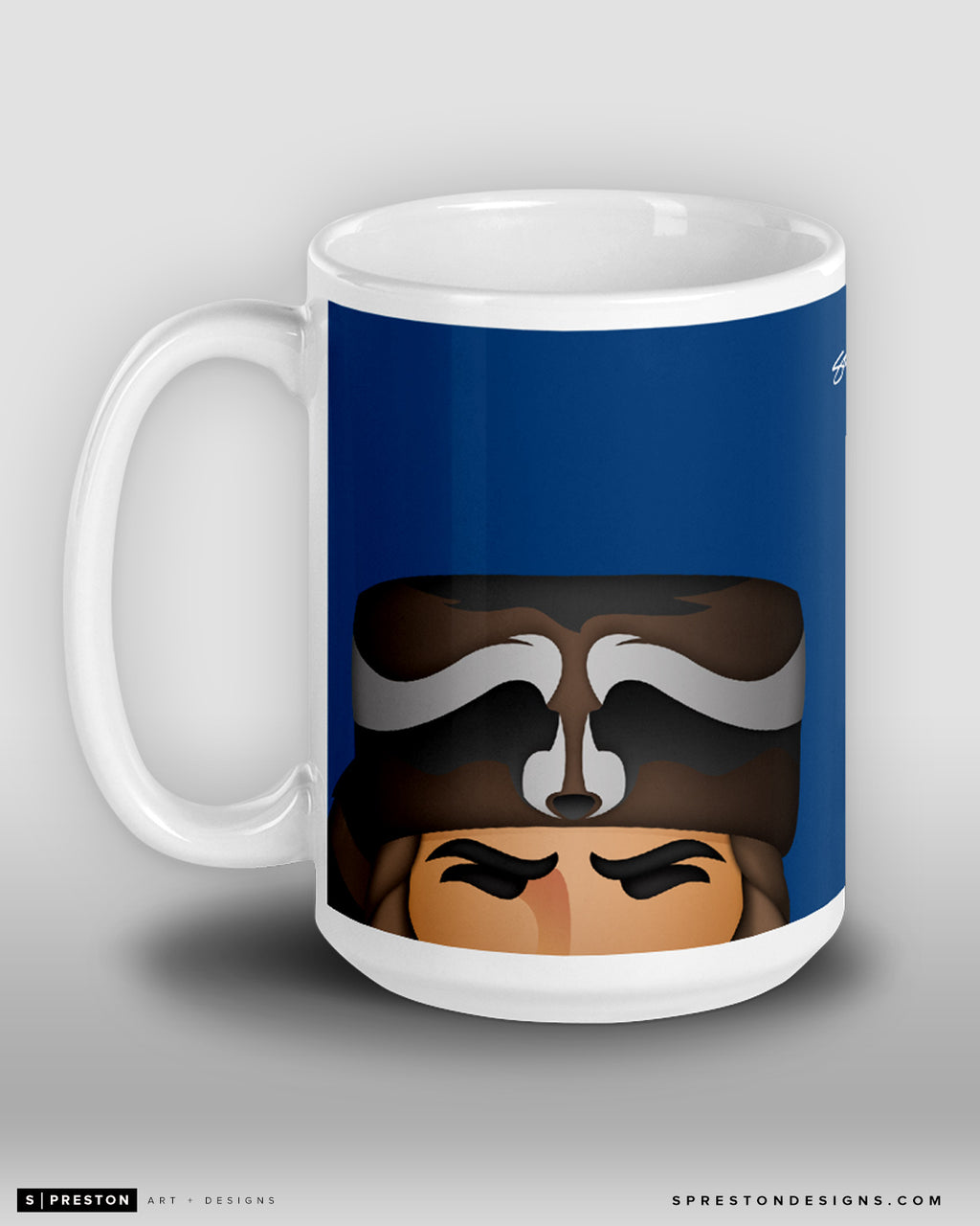 Minimalist The Mountaineer Coffee Mug