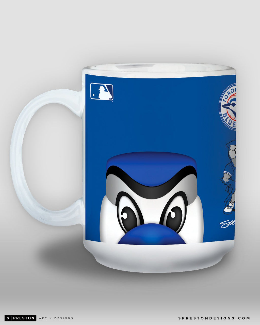 Minimalist Ace Coffee Mug - MLB Licensed - Toronto Blue Jays Mascot