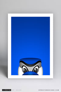 Minimalist Ace Art Print - Toronto Blue Jays - S. Preston Art + Designs