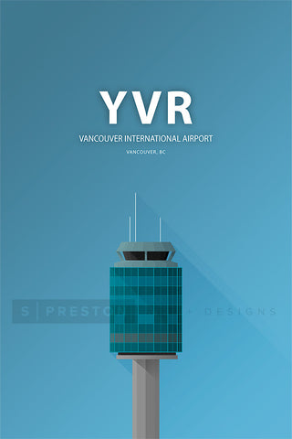 Minimalist YVR Vancouver International Airport