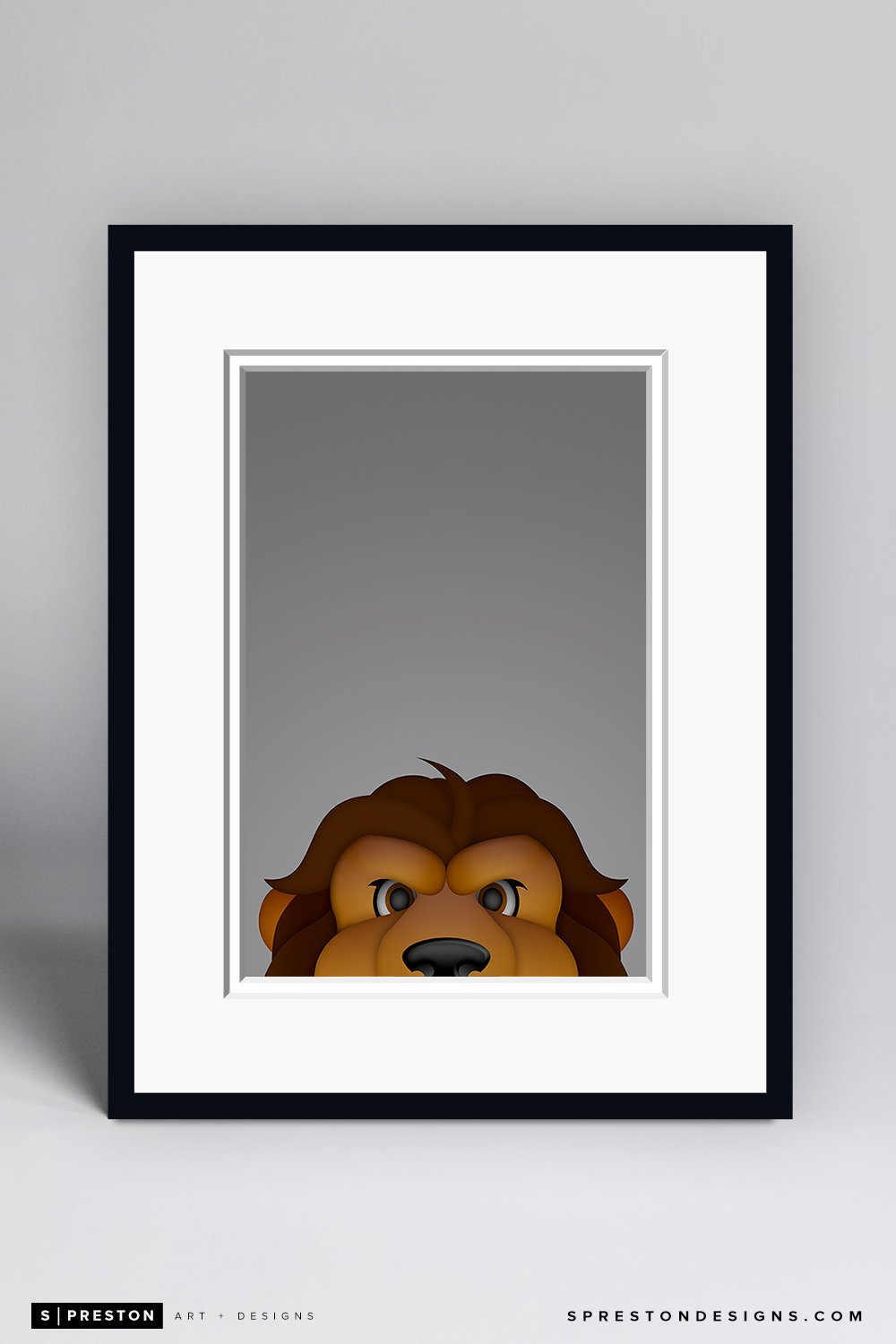Minimalist Bailey Art Print - Los Angeles Kings - S. Preston Art + Designs