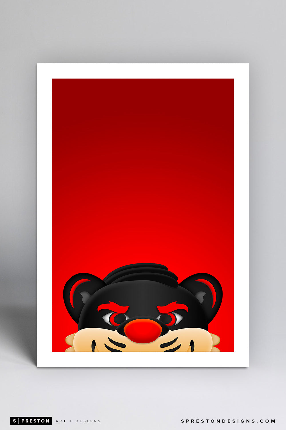 Minimalist Bearcats - University of Cincinnati - University of Cincinnati - S. Preston