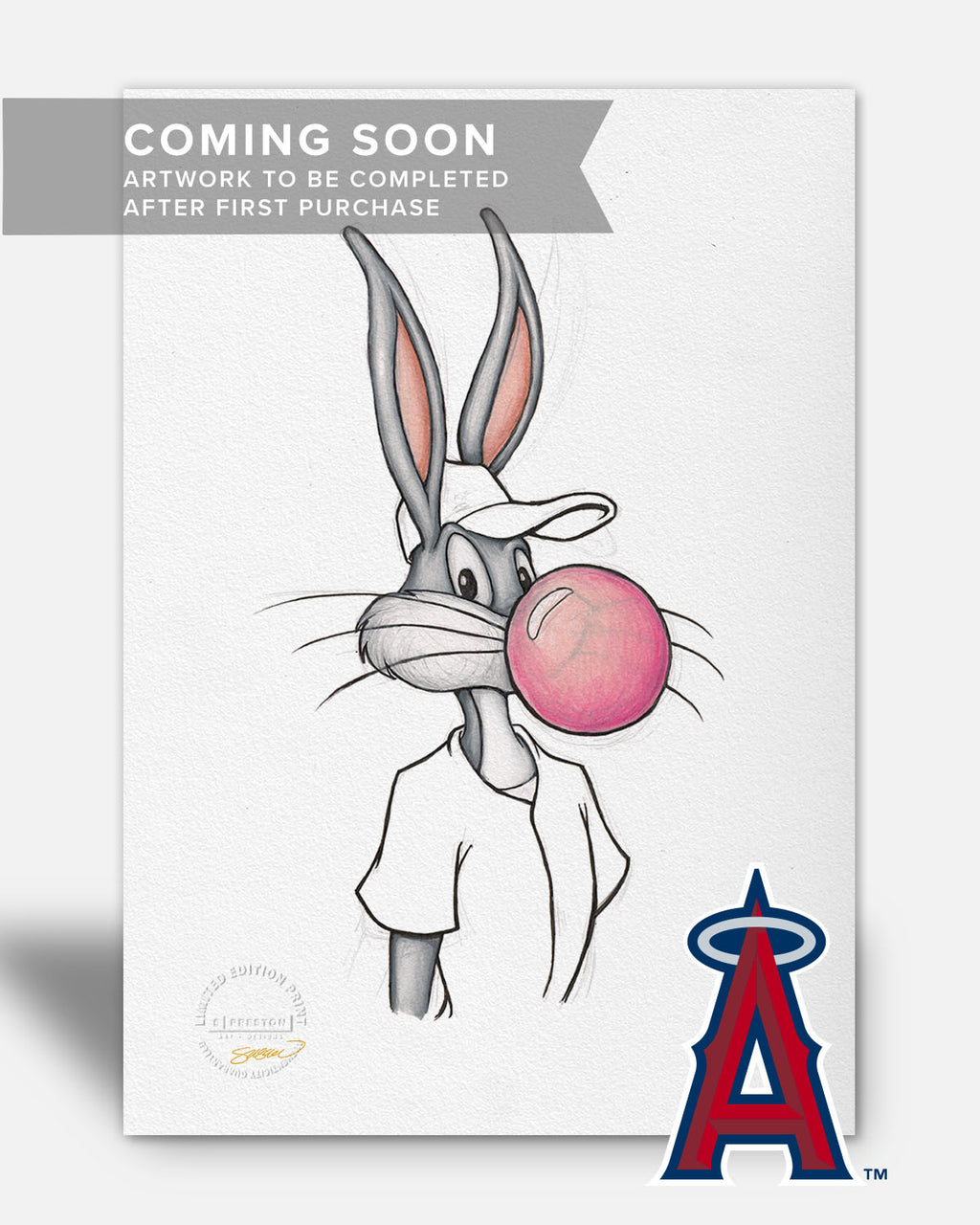 Bubblegum Bugs x MLB - Angels