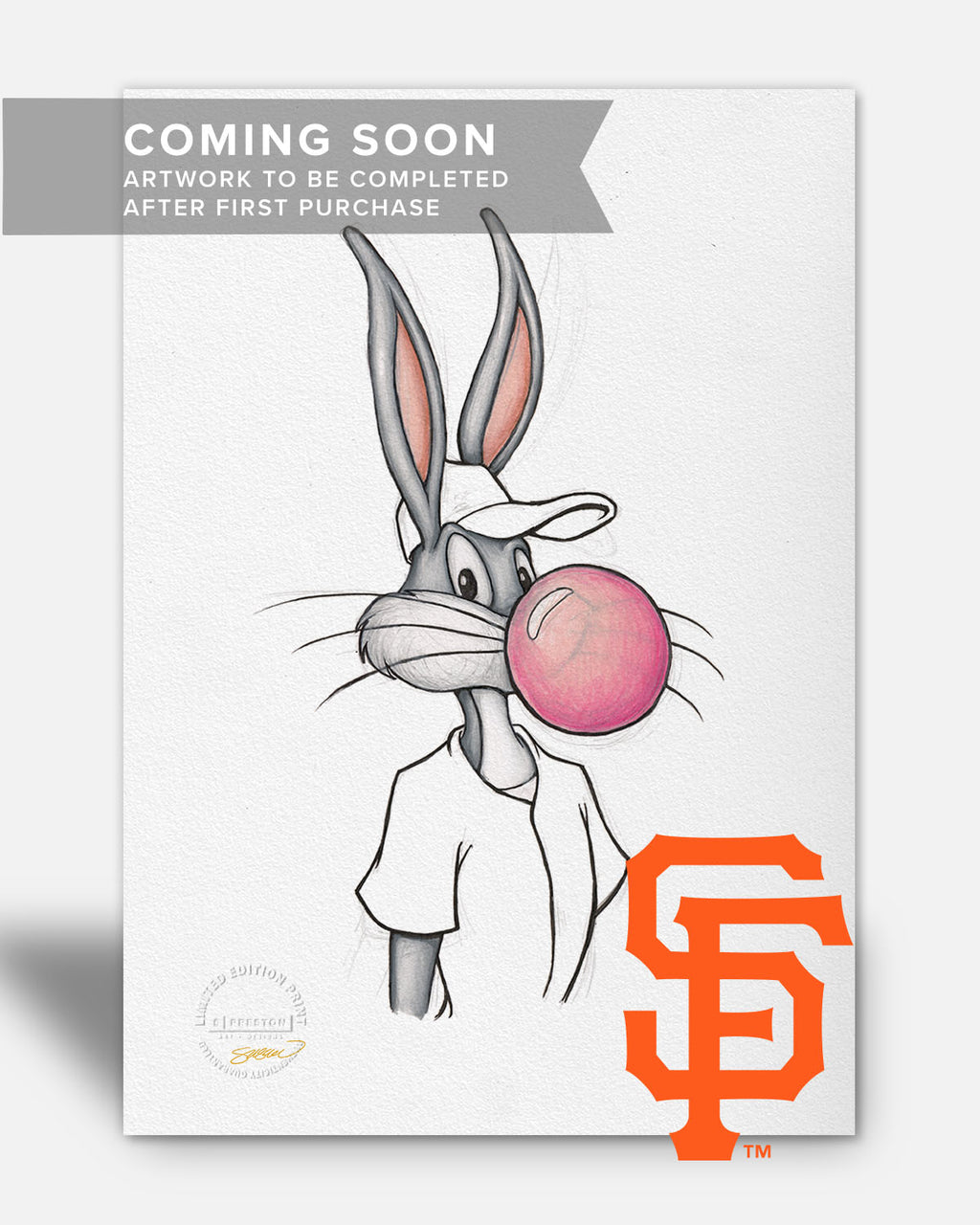 Bubblegum Bugs x MLB - Giants