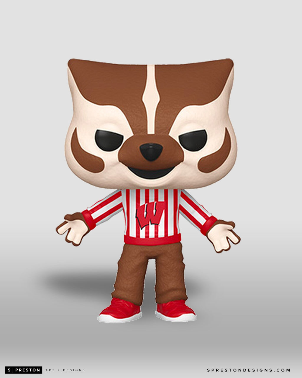 Funko POP! -Bucky Badger - NCAA Mascot