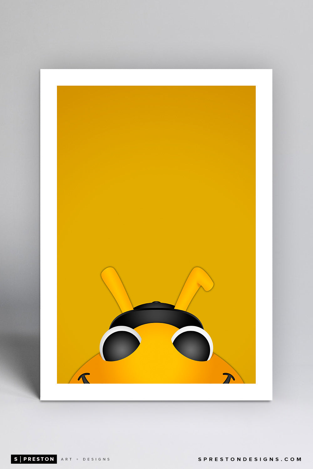 Minimalist Bumble - Salt Lake Bees - Salt Lake Bees - S. Preston