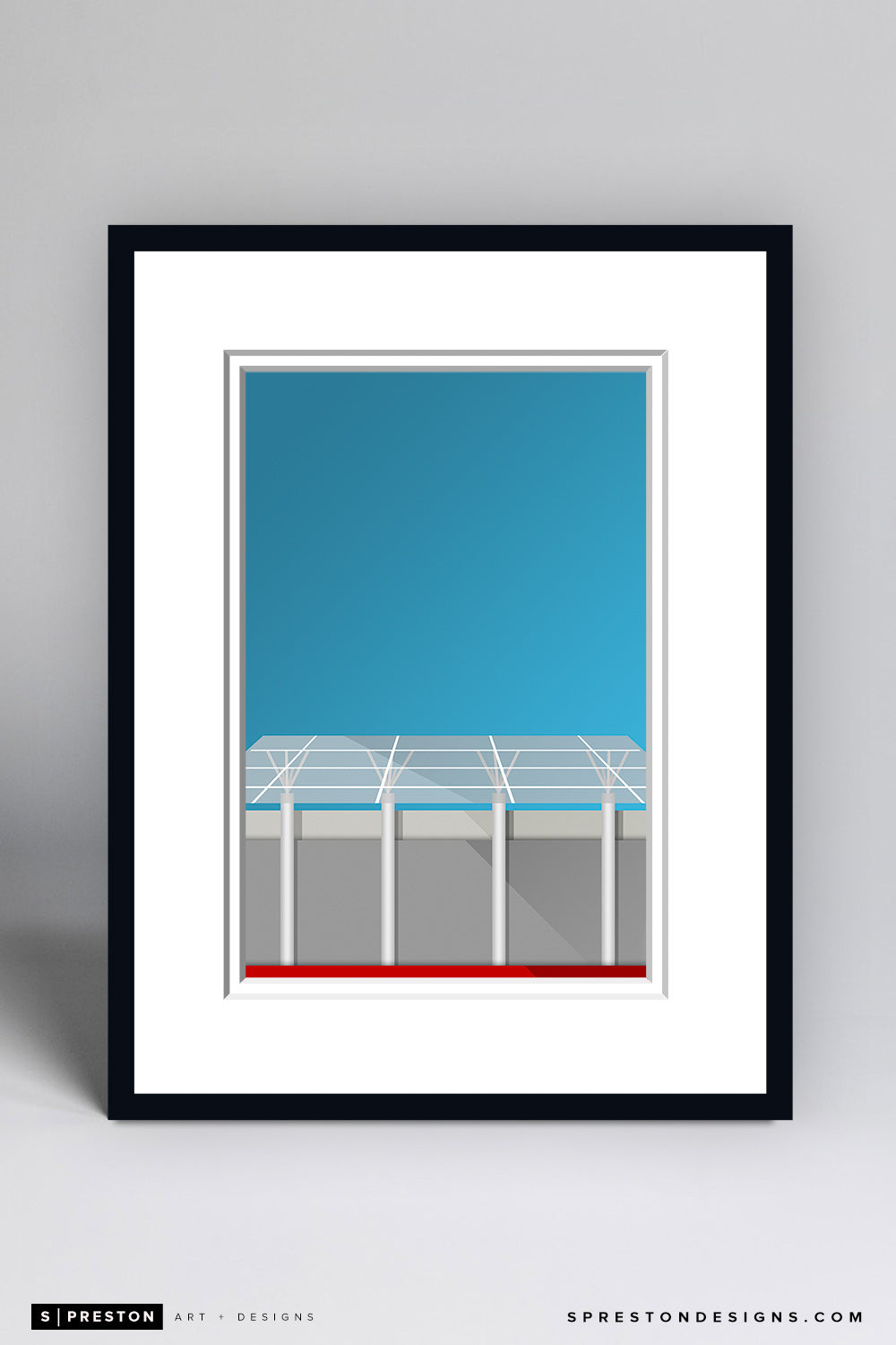Minimalist Capital One Arena