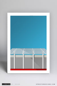 Minimalist Capital One Arena - Washington Capitals - S. Preston