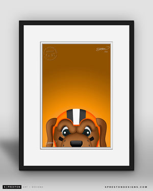 Minimalist Chomps - Cleveland Browns - S. Preston