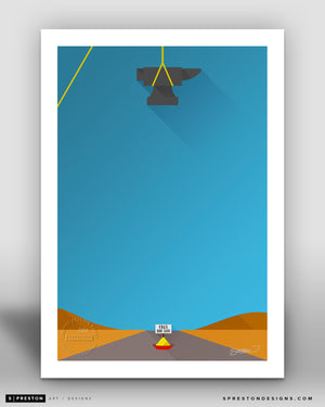 Free Bird Seed - Minimalist Looney Tunes - Chuck Jones Gallery - S. Preston