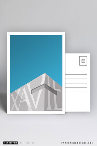 Minimalist Cintas Center Postcard