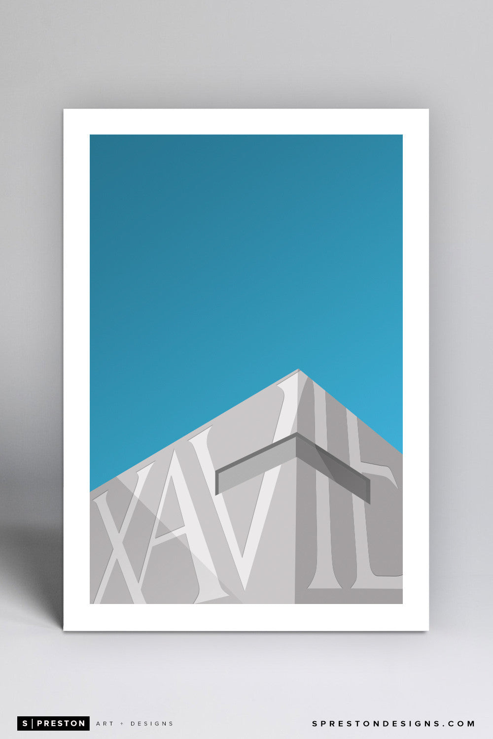 Minimalist Cintas Center - Xavier University - S. Preston