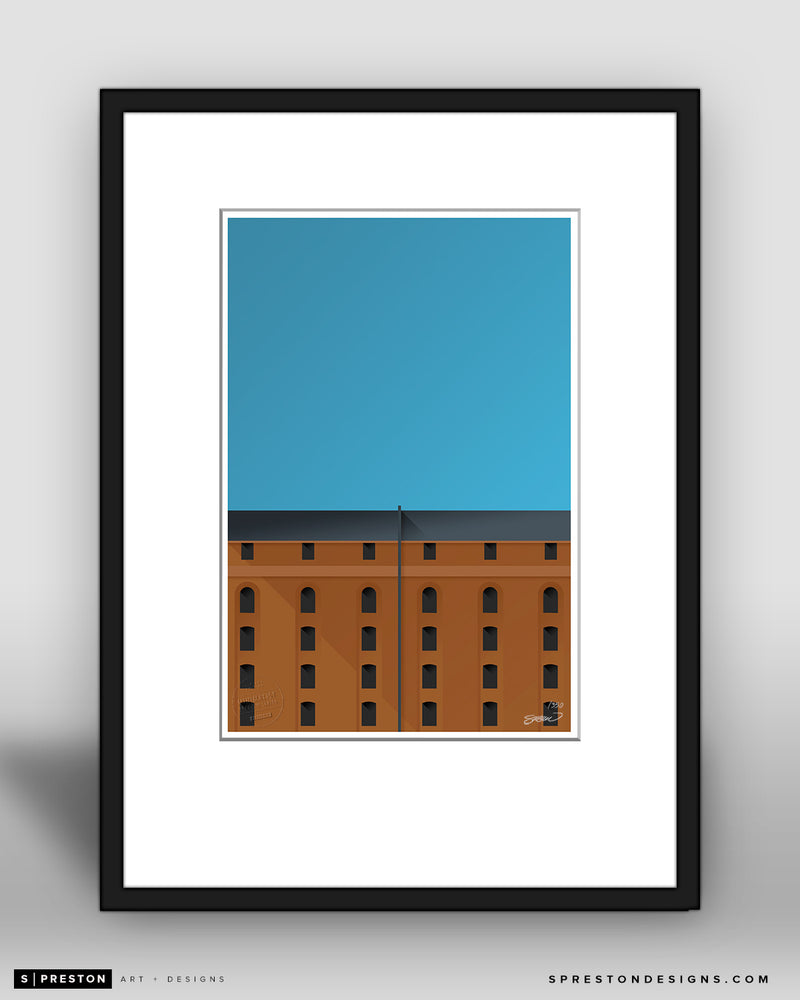 Minimalist Camden Yards Collector's Edition - CLEARANCE