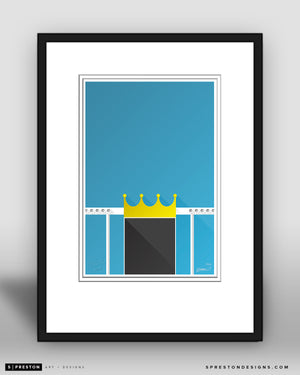 Minimalist Kauffman Stadium Collector's Edition - CLEARANCE