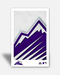 Minimalist Logo - Colorado Rockies