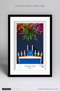 Minimalist Comiskey Park - Chicago White Sox - S. Preston