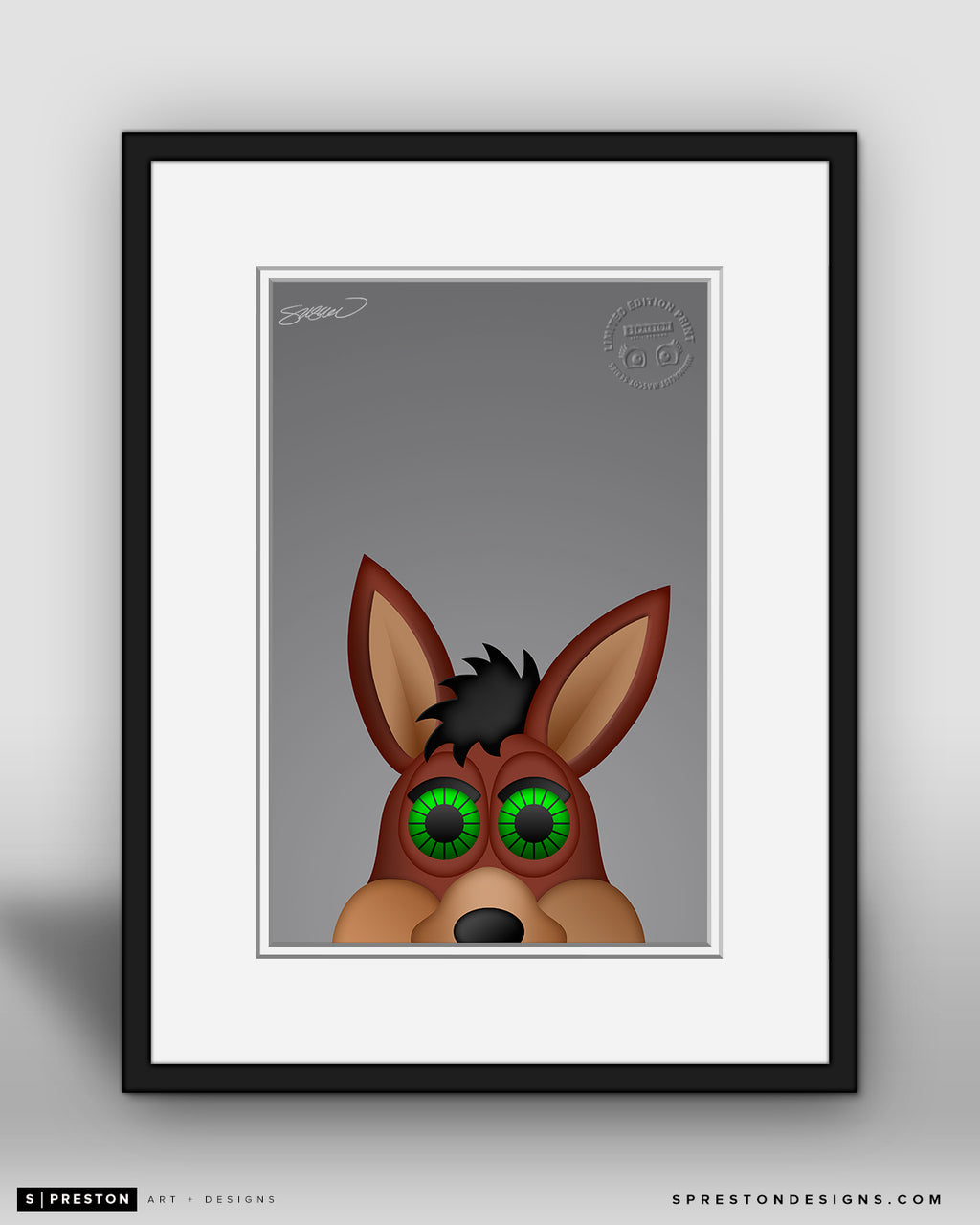 Minimalist The Coyote