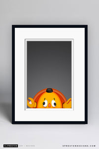 Minimalist Crazy Crab - San Francisco Giants - S. Preston