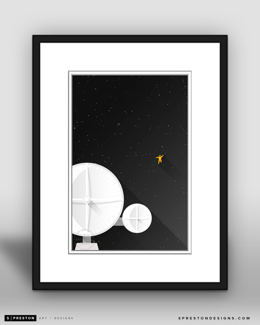 Minimalist Movies - Discovery One - 2001 A Space Odyssey - S. Preston