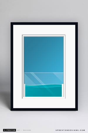 Minimalist Everbank Field Art Print - Jacksonville Jaguars - S. Preston Art + Designs