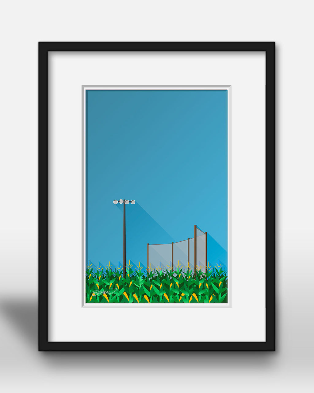 Minimalist Field Of Dreams - Sports Movies - S. Preston