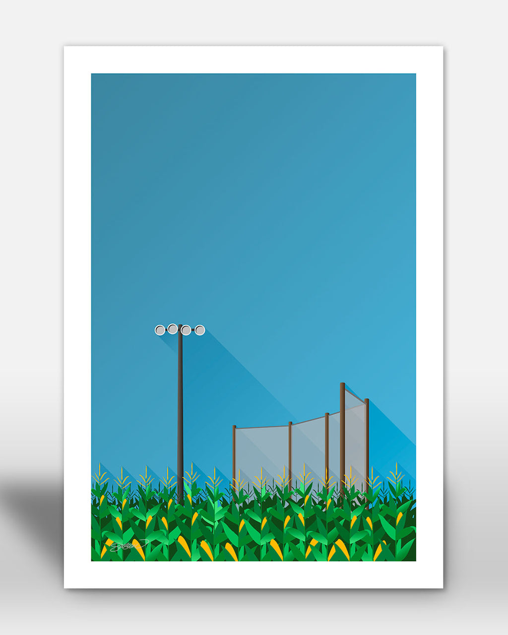 Minimalist Field Of Dreams