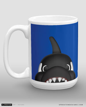 Minimalist Fin Coffee Mug - NHL Licensed - Vancouver Canucks Mascot