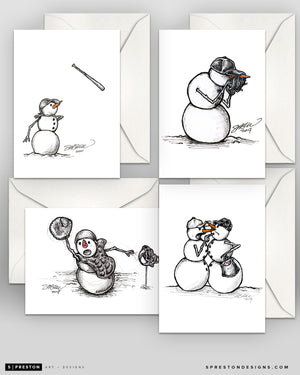 Team Frosties Holiday Cards - Variety Pack - Box of 12