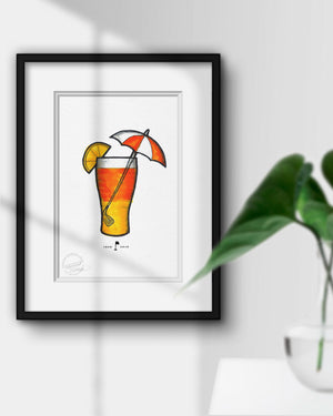 Remembering Arnold Palmer Tribute Sketch Print