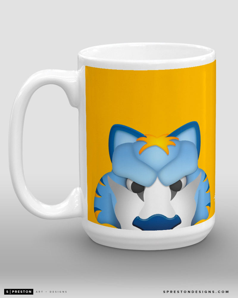 Minimalist Gnash Coffee Mug - NHL Licensed - Nashville Predators Mascot