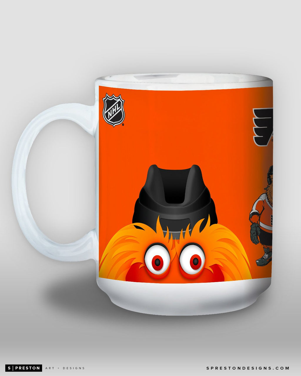 Minimalist Gritty Coffee Mug - NHL Licensed - Philadelphia Flyers Mascot