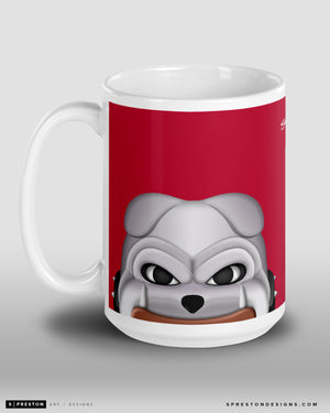 Minimalist Hairy Dawg Coffee Mug