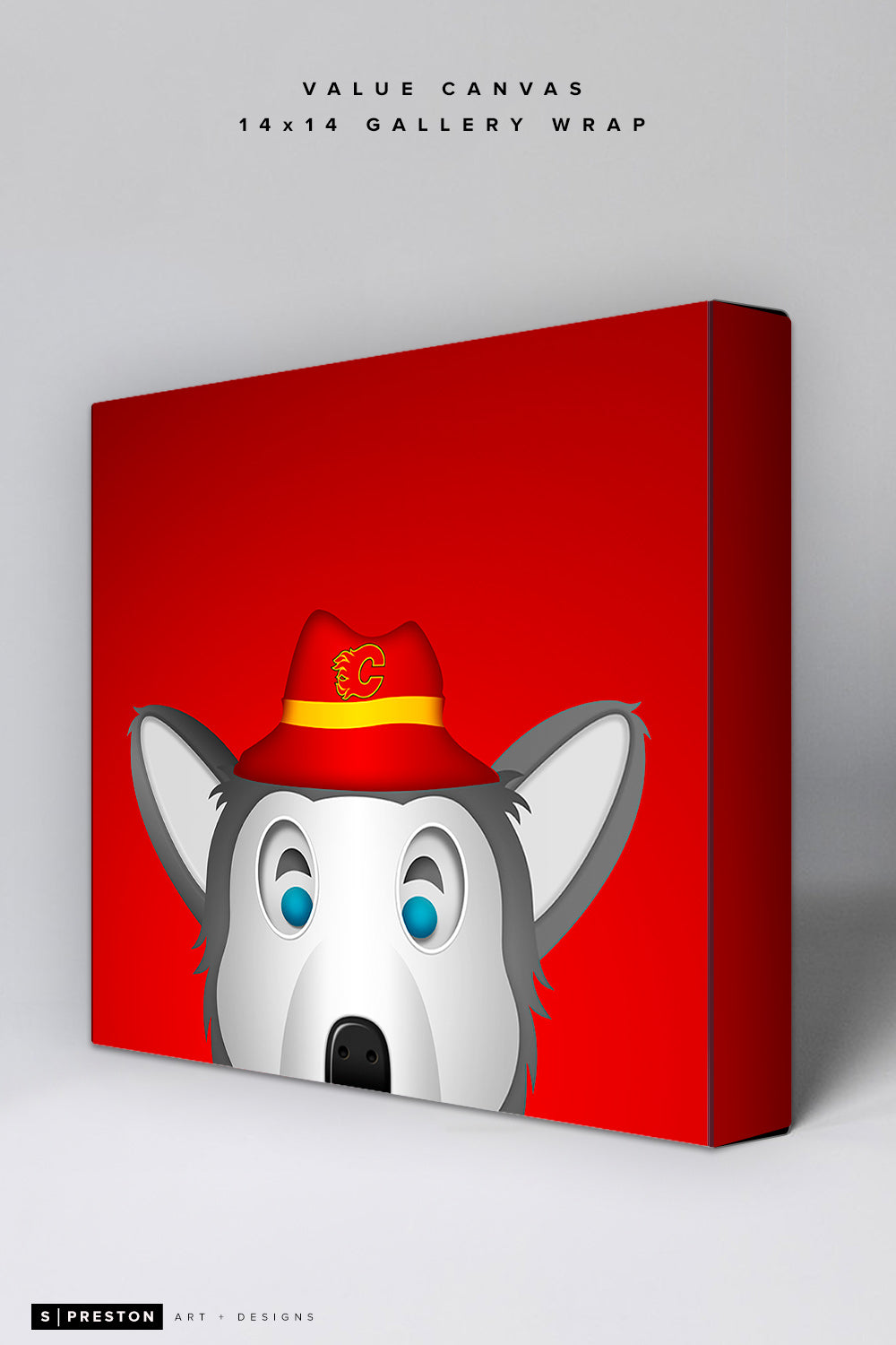 Minimalist Harvey The Hound Value Canvas CLEARANCE