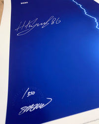 Minimalist Stanley Cup 2020 - Nikita Kucherov Signed - Authenticated