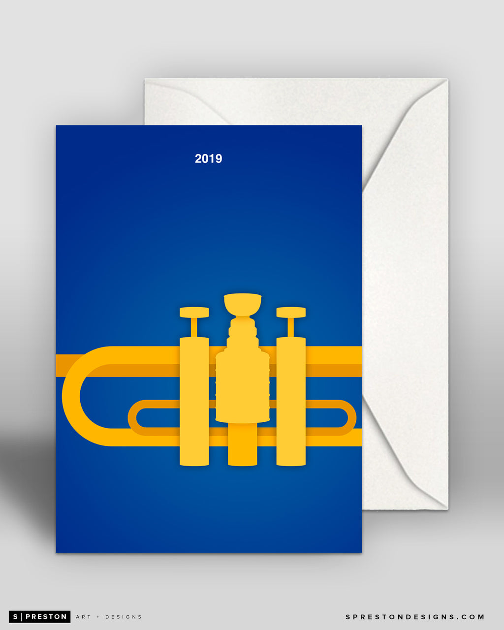 Minimalist Stanley Cup 2019 Note Card Set